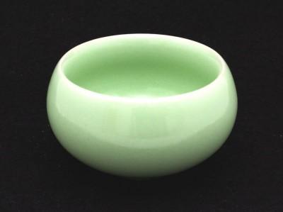 Czarka z zielonej porcelany 40 ml