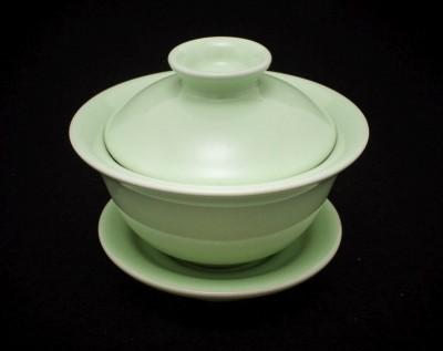 Ceramiczny gaiwan zielony 110 ml