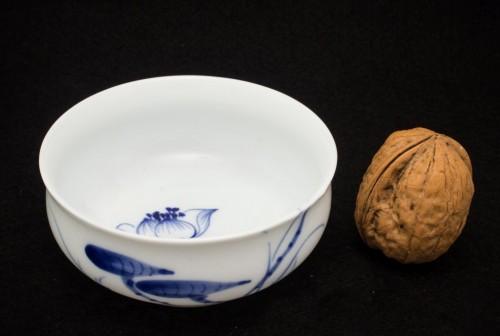 Lotos - Czarka porcelanowa ręcznie malowana 40ml