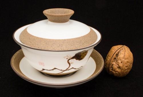 Gaiwan - ręcznie malowany Lotos 130 ml