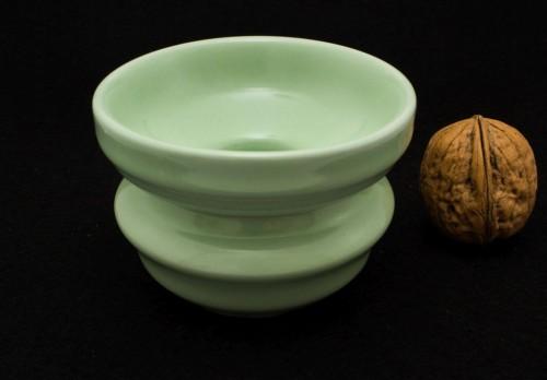 Zielone sitko porcelanowe