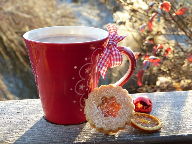 herbata, jako prezent